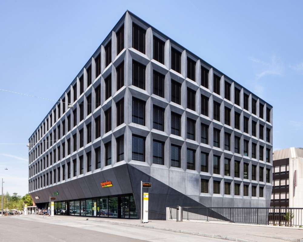Architecture photography office building in liestal for Office building design architecture