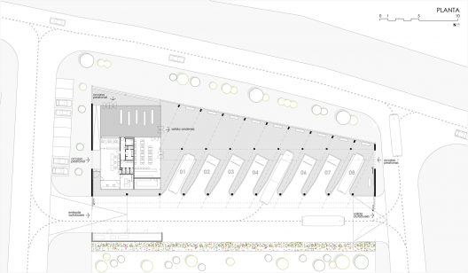 Bus Station Dtr Studio Archdaily