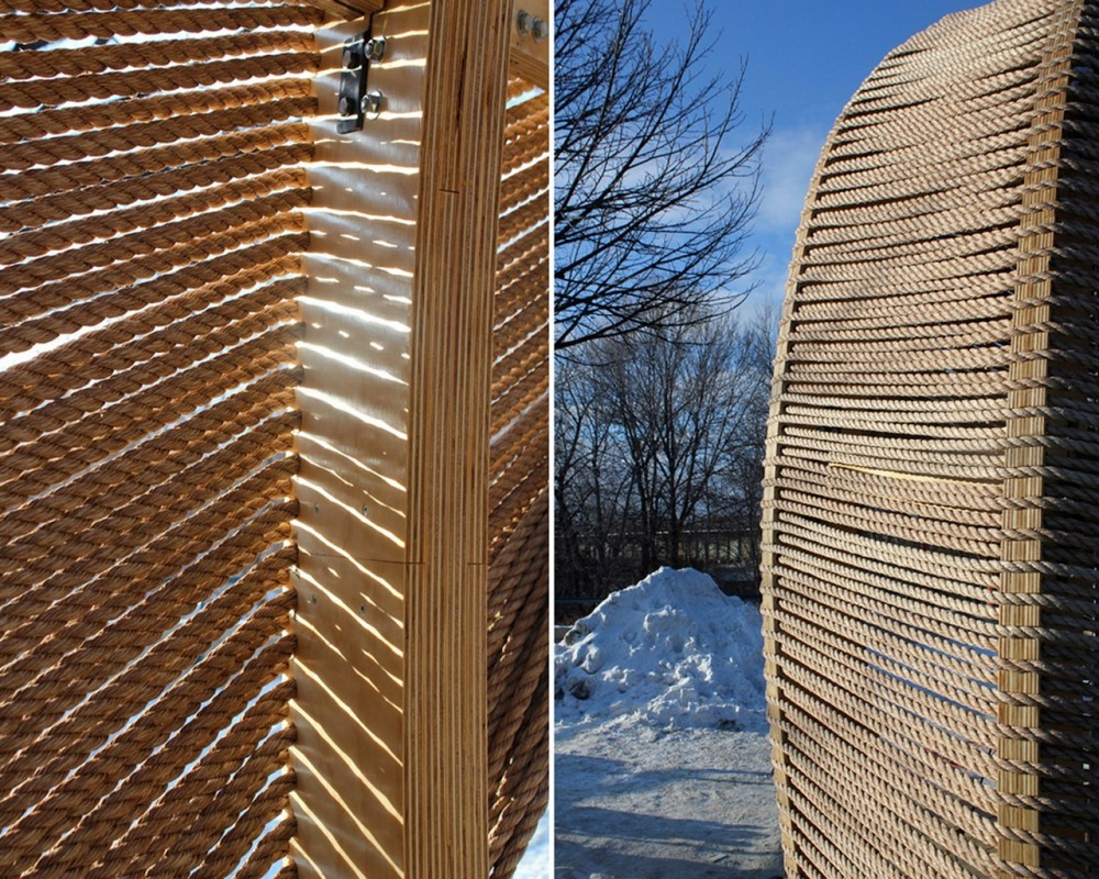 Rope Pavilion / Kevin Erickson