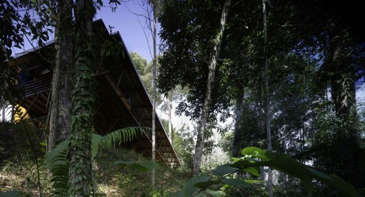 Shelter @ Rainforest / Marra + Yeh Architects  Brett Boardman