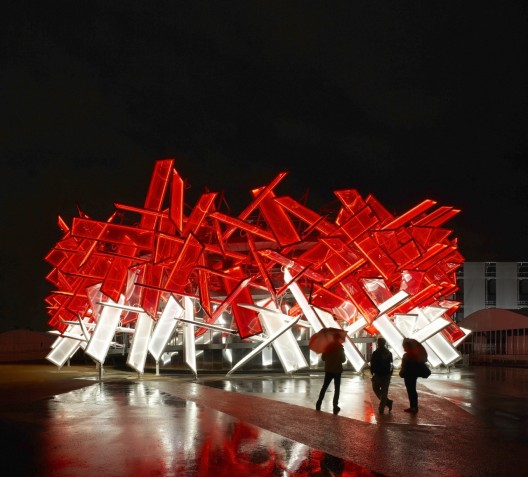 Coca Cola Beatbox Pavilion / Pernilla &amp; Asif  Hufton &amp; Crow
