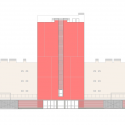 108 Dwellings in Polígono Aeropuerto / Enrique Abascal García Elevation 02