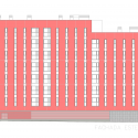 108 Dwellings in Polígono Aeropuerto / Enrique Abascal García Elevation 03
