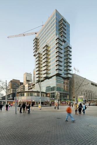 In Progress: B&#039; Tower / Wiel Arets Architects  Jan Bitter