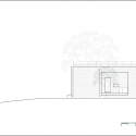 House of San-jo / Studio Gaon East Elevation 01
