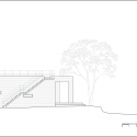 House of San-jo / Studio Gaon North Elevation 01