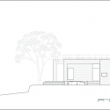 House of San-jo / Studio Gaon South Elevation 01