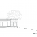 House of San-jo / Studio Gaon West Elevation 01
