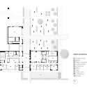 Triangle Brick Headquarters / Pearce Brinkley Cease + Lee First Floor Plan 01