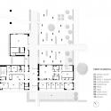 Triangle Brick Headquarters / Pearce Brinkley Cease + Lee First Floor Plan 01