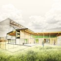 Artisan Barn &#x002028;Addition / Hutchison &amp; Maul Architecture (3) Section Perspective - Courtesy of Hutchison &amp; Maul Architecture