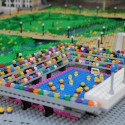 Olympic Park replica made from LEGOs (7) © Warren Elsmore