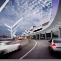 AECOM to give LAX a facelift (7) TBIT Canopy look towards 4 - Courtesy of AECOM