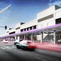AECOM to give LAX a facelift (6) TBIT Departure Cross Walk - Courtesy of AECOM
