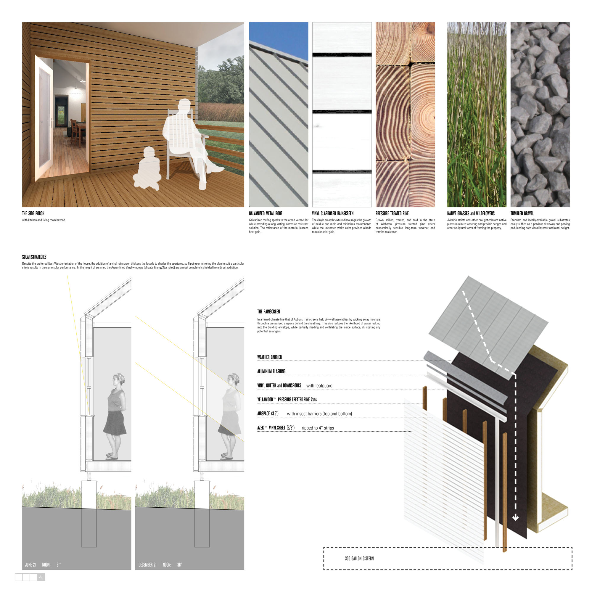 Architecture Photography Best Use Of Vinyl Habitat For Humanity S Sustainable Home Design