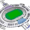 2014 World Cup Final Stage Stadium (5) first floor plan