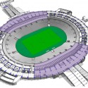 2014 World Cup Final Stage Stadium (6) second floor plan