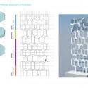 UNStudio diseña 'V de Shenton' el nuevo edificio de la UIC en Singapur (8) Aparcamiento Oficina de las estrategias de sobres © UNStudio