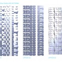 UNStudio designs the new UIC building 'V on Shenton' in Singapore  (9) Residential envelope patterns © UNStudio