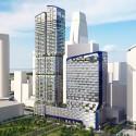 UNStudio diseña 'V de Shenton' el nuevo edificio de la UIC en Singapur (1) © UNStudio