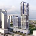UNStudio diseña 'V de Shenton' el nuevo edificio de la UIC en Singapur (2) © UNStudio