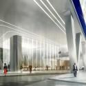 UNStudio diseña 'V de Shenton' el nuevo edificio de la UIC en Singapur (3) © UNStudio