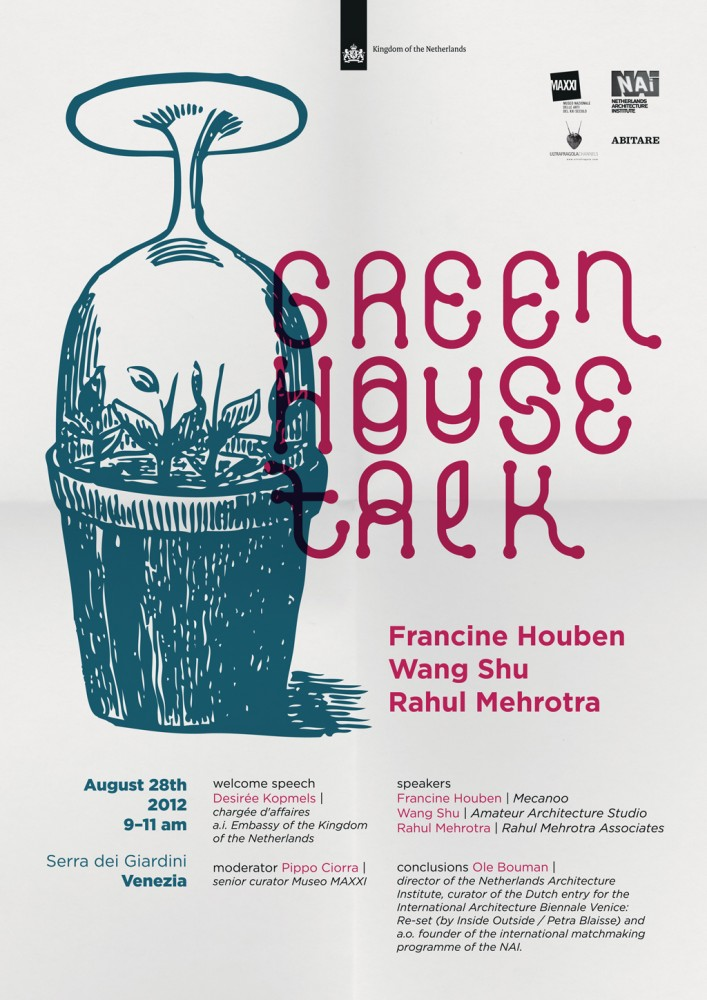 Venice Biennale 2012: 'GREENHOUSE TALK'