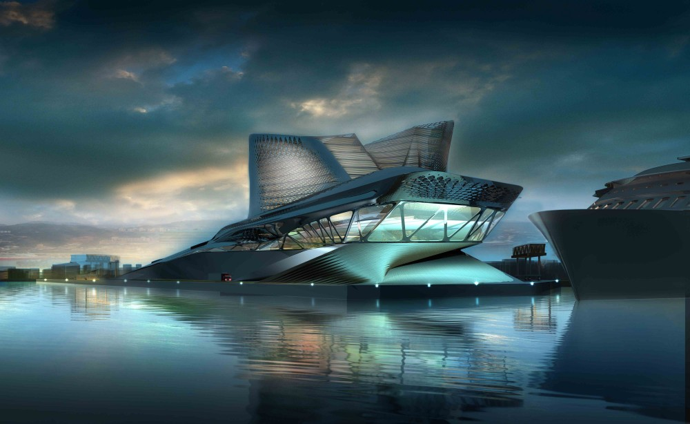 Keelung Harbor Terminal Building Proposal / Synthesis Design + Architecture (SDA)