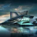 Keelung Harbor Terminal Building Proposal (2) © OneView CG