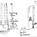 SKETCH_2 Sketches © Alejandro Aravena Architects