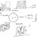 SKETCH_1 Sketches © Alejandro Aravena Arquitectos