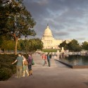 National Mall Design Winning Proposal (3) view from entry  GGN / Methanoia