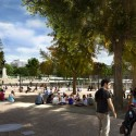 National Mall Design Winning Proposal (5) view from terraces  GGN / Methanoia