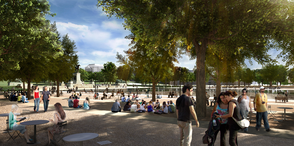 National Mall Design Winning Proposal / Gustafson Guthrie Nichol + Davis Brody Bond