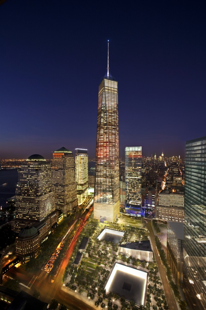 Updated Visuals for One World Trade