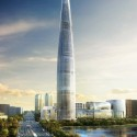 Lotte World Tower / KPF (1) image by dbox branding & creative for KPF