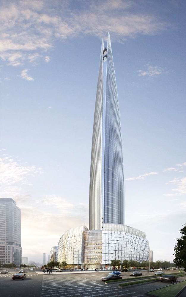 In Progress: Lotte World Tower / KPF