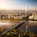 Lotte World Tower / KPF (5) image by dbox branding & creative for KPF