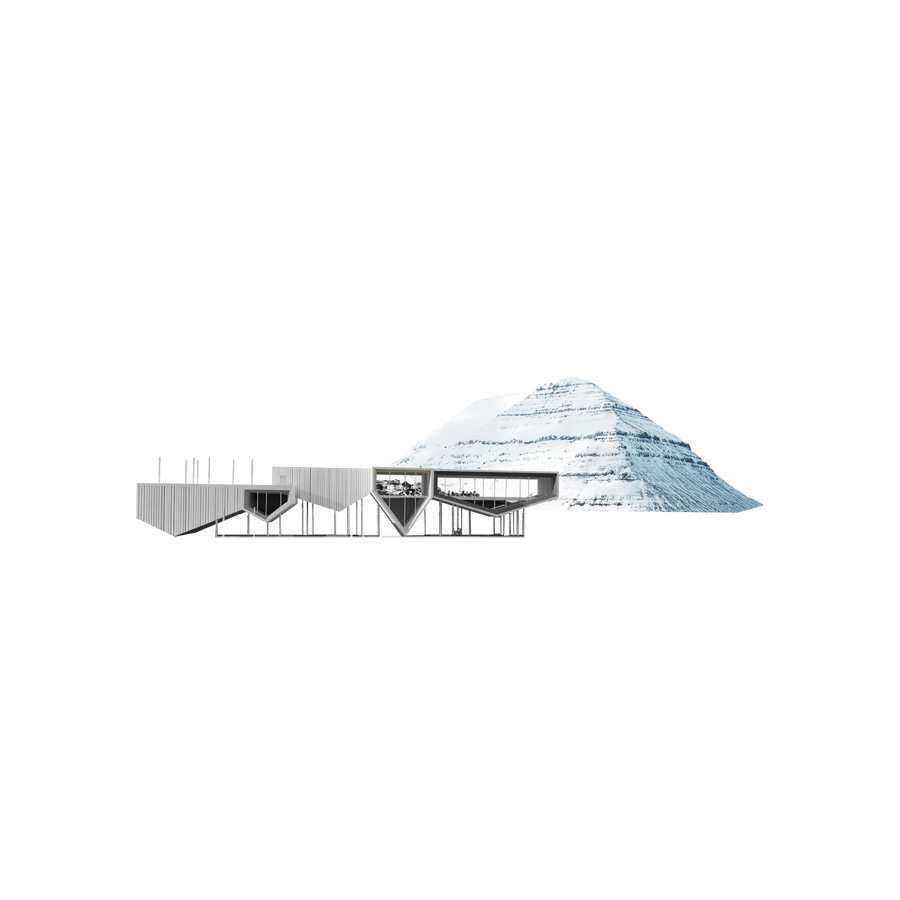 Klaksvik City Center / LCLAOFFICE + Lateral Office