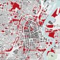 """Bienal de Venecia 2012: Pabellón Británico presenta """"Venecia Takeaway"""" (5) """"Falta Mapa de la ciudad ', Belfast / Foro por la Variante Belfast - Cortesía del British Council"""
