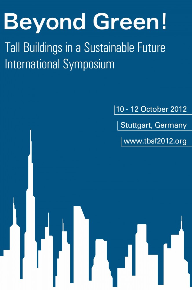 'Beyond Green! – Tall Buildings in a Sustainable Future' Symposium