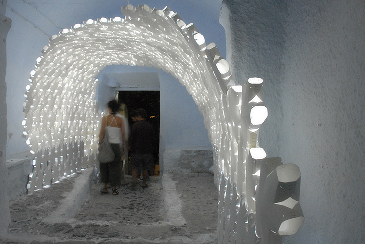 Daphne  Installation for Santorini Biennale 2012 / 24 Studio
