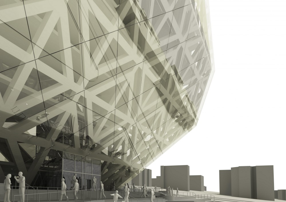 Tehran Stock Exchange Competition Entry / EBA[M] + VMX Architects