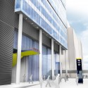 Grimshaw submits proposal for over-site development in Paddington (1) Northwest station entrance - Courtesy of Grimshaw
