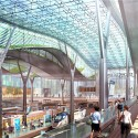 Amtrak and HOK reveal plans for a new Washington Union Station  (7) Interior view of Train Shed - Courtesy of HOK