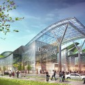 Amtrak and HOK reveal plans for a new Washington Union Station  (6) Train Shed looking Southwest - Courtesy of HOK