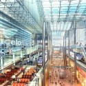 Amtrak and HOK reveal plans for a new Washington Union Station  (5) Central Concourse - Courtesy of HOK