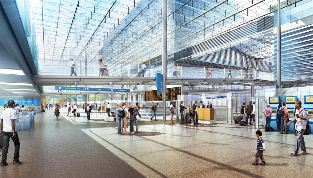 Amtrak and HOK unveils design for new Washington Union Station