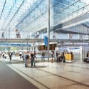 Amtrak and HOK reveal plans for a new Washington Union Station  (4) Concourse A - Courtesy of HOK