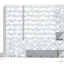 Tehran Stock Exchange Competition Entry (20) south elevation